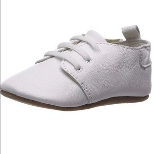 Robeez leather toddler shoe